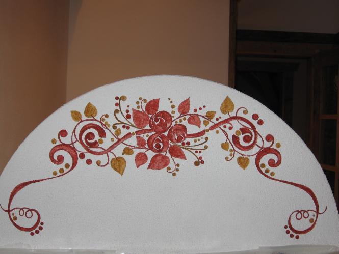 decorazione a mano