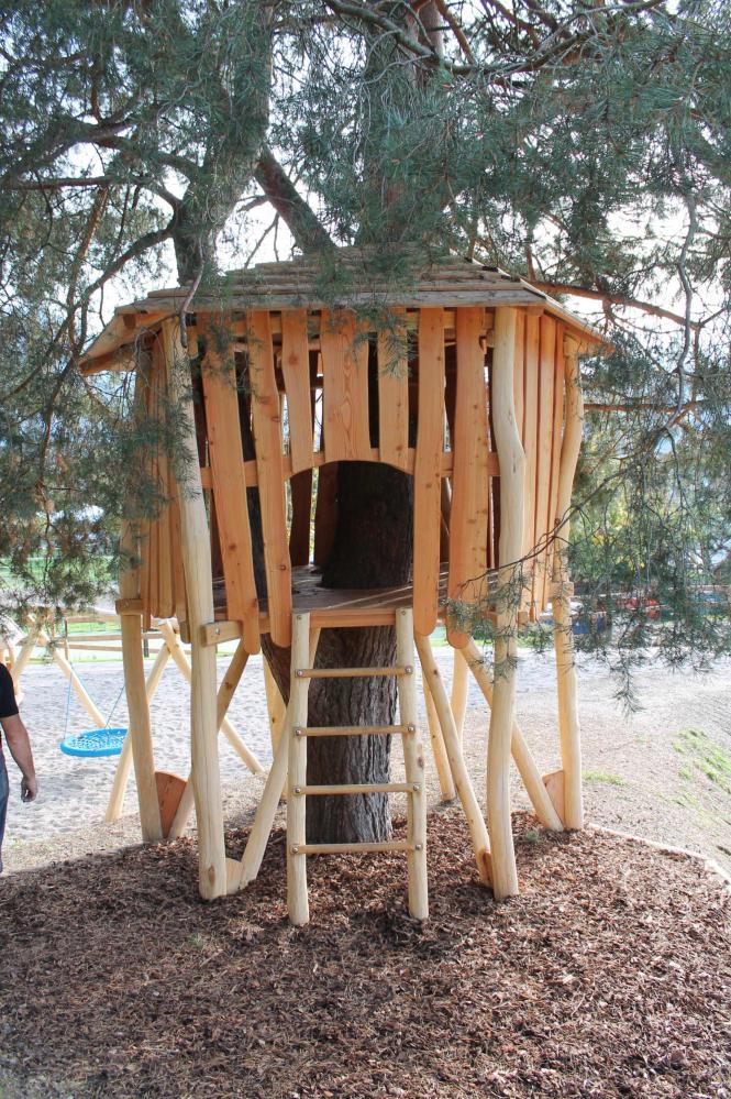 L 39 officina del legno for Case in legno sugli alberi
